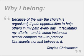 clayton christensen beliefs quote