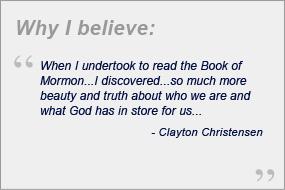 clayton christensen beliefs