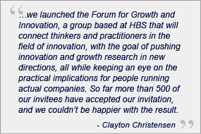 forum for growth and innovation quote
